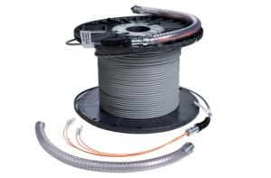 Terminazione fibra ottica per cavi con armatura dielettrica